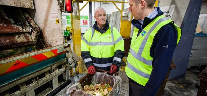 Severn Trent expects to generate 17,000 Megawatt Hours of electricity from the food waste AD plant