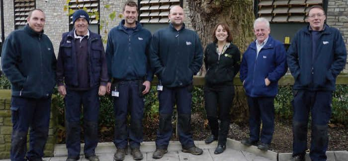 The Streamclean team at Wessex Water