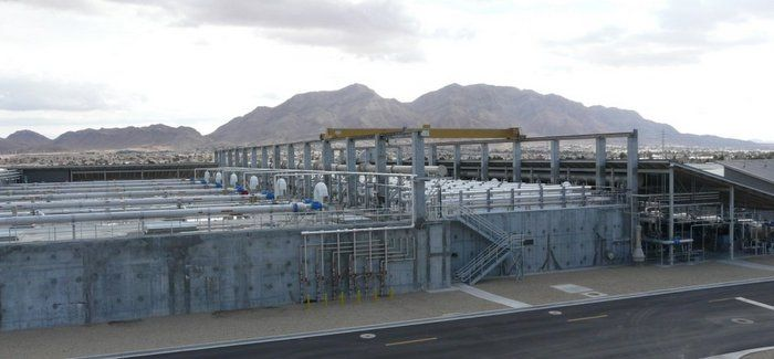 North Las Vegas wastewater treatment plant