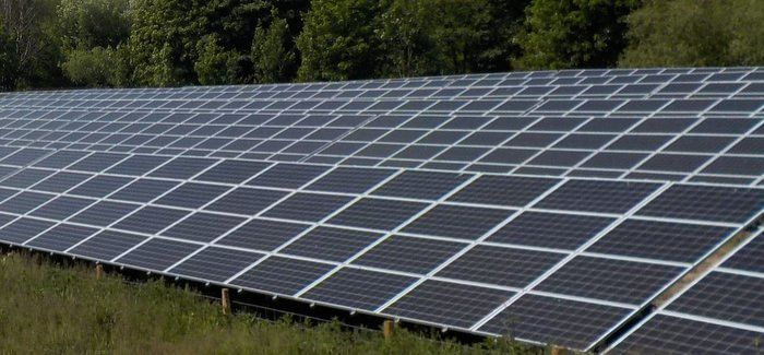 Around 8,000 solar panels have been installed at Five Fords WwTW