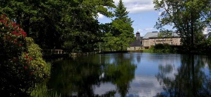 Glenmorangie's distillery in Tain