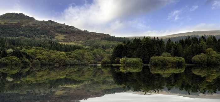 Burrator Reservoir in Dartmoor, Devon