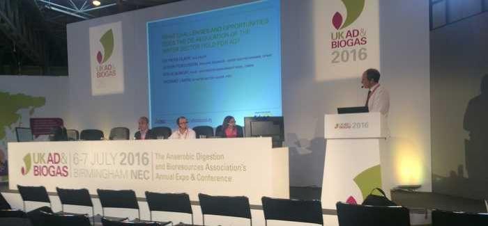 L-R: Richard Laikin (PwC), Steve Bungay (CIWEM), Alison Fergusson (Ofwat), Dr Piers Clark (Isle Utilities, chair)