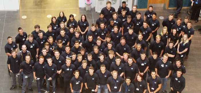 Severn Trent's new intake of apprentices