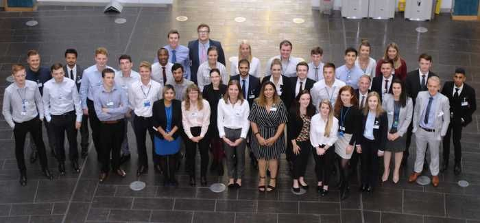 The new 45-strong graduate intake at Severn Trent