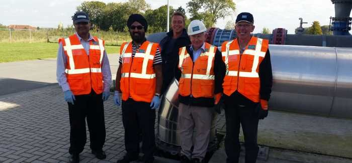 Severn Trent staff visiting the Global Nereda Academy in Amersfoot in The Netherlands