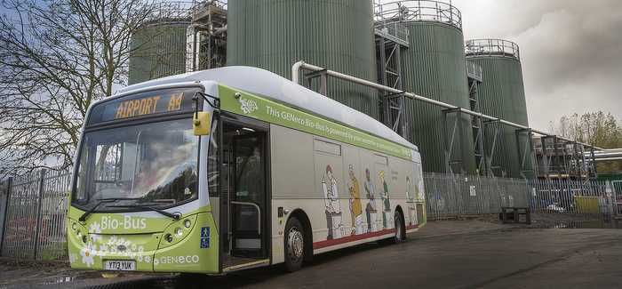 Wessex's Avonmouth treatment works generates biogas which has been used to fuel buses