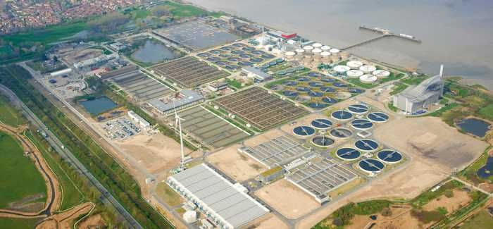 Crossness Sewage Treatment Works is among the sites covered by the contract