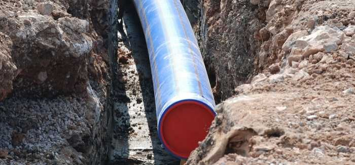 Polyethylene barrier pipes are widely used on brownfield sites