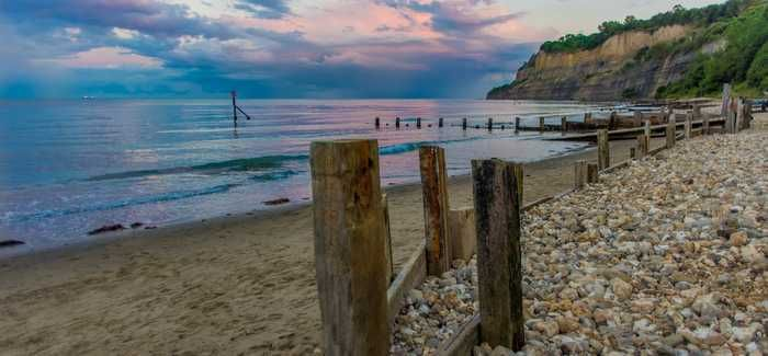 Shanklin on the Isle of Wight was one of the beaches selected
