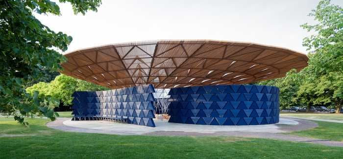 The Serpentine Pavilion is open from June until October