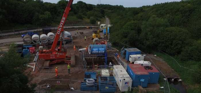 Tunnel boring getting underway in the Frome Valley project
