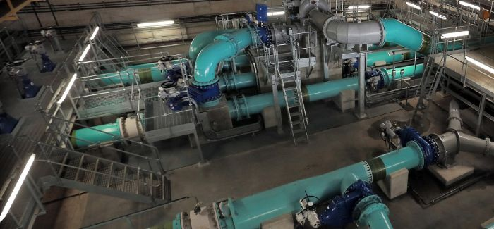 The trial is taking place at Glencorse Water Treatment Works