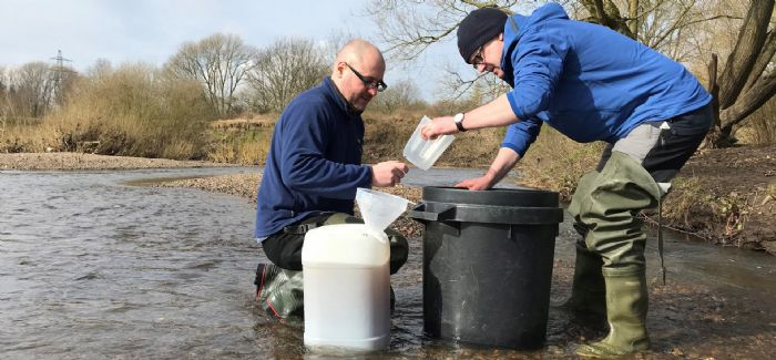 The study examined the microplastics in river sediments from 40 sites across Greater Manchester (Photo: Jamie Woodward)