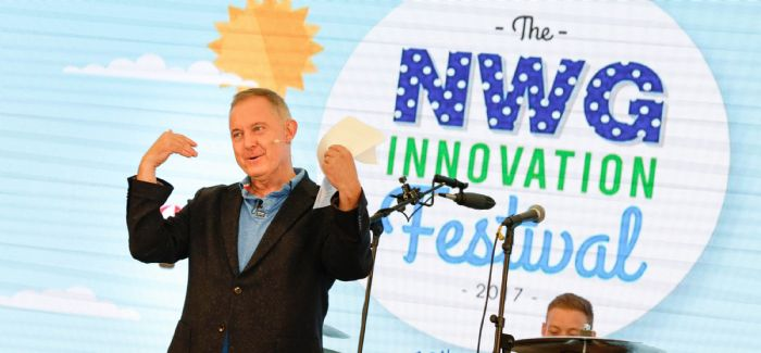 Northumbrian Water Group information services director Nigel Watson at last year's festival