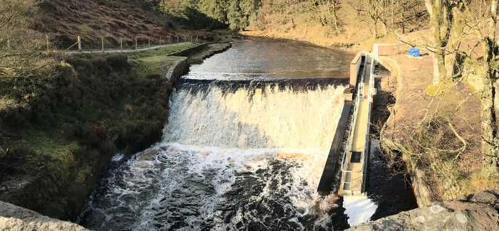 The new fish pass was a joint project between Yorkshire Water and the EA