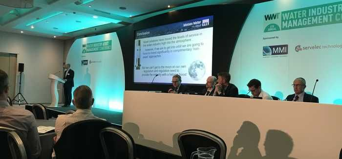 The opening panel session at the conference looked at the central challenges of PR19