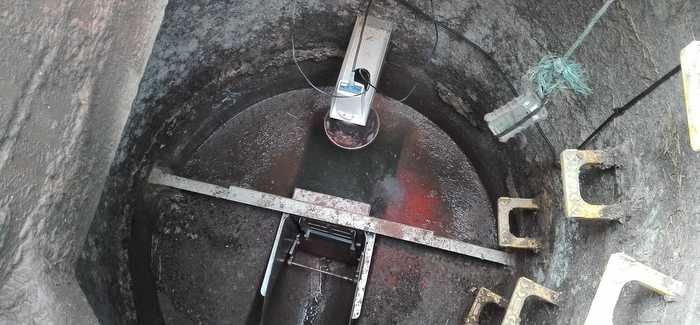 HYDRAPULSE installed in a sewer