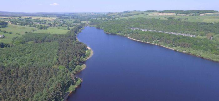 Underbank reservoir is undergoing £500,000 of safety improvement work