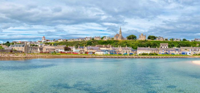Lossiemouth is among the areas being urged to conserve water