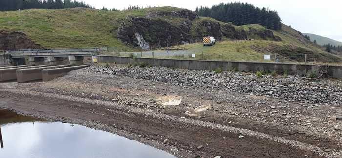 Craig-y-Pistyll reservoir in Ceredigion