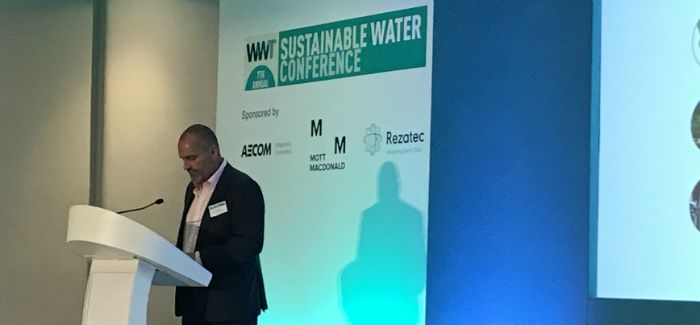 EA director of water, land and biodiversity Pete Fox addresses the conference