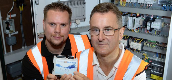 Clearwater Controls' technical director, Graham McIvor, and managing director, Simon Crompton