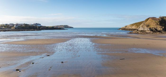 Cemaes Bay on Anglesey is among the sites to have improved