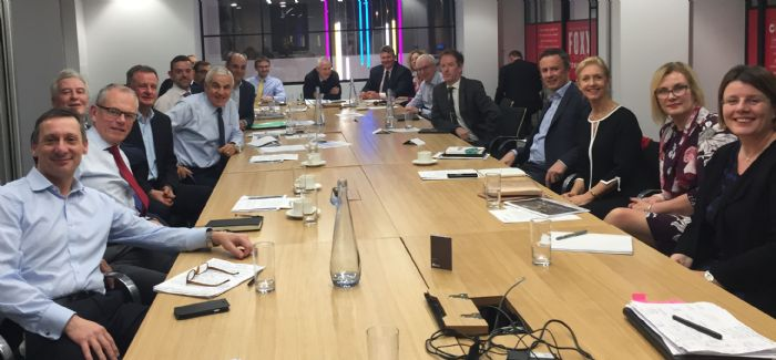 Attendees at the Energy and Utilities Skills Partnership Council Meeting on 4 December