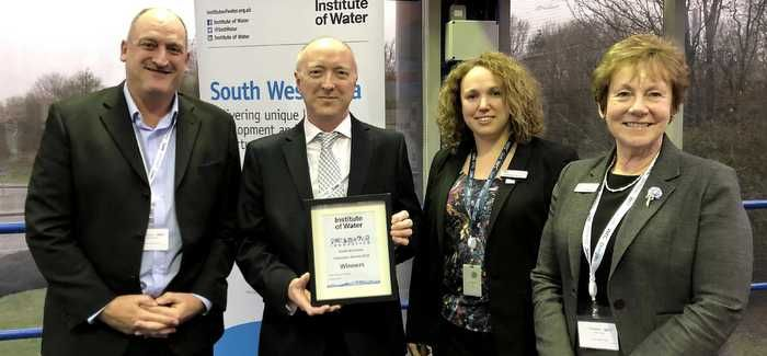 Wessex Water were rewarded with the innovation prize
