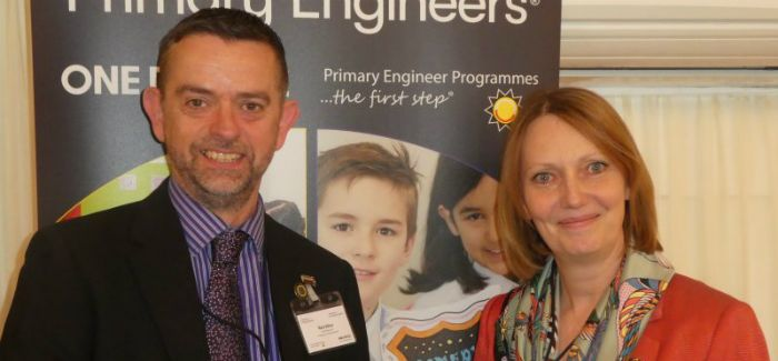 Energy & Utility Skills CEO Nick Ellins with Primary Engineer founder Dr Susan Scurlock