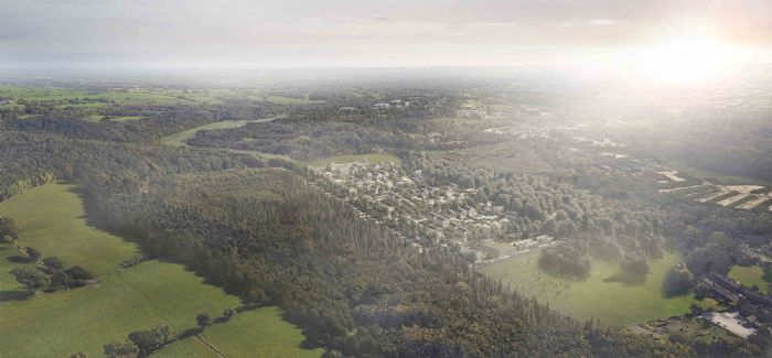 This CGI image shows how the sustainable development could appear
