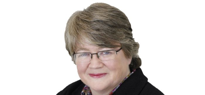Environment Minister Therese Coffey said: 'We need to challenge ourselves more on how much water we actually need to use'