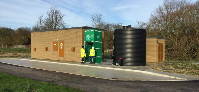 Yorkshire Water's new chemical dosing systems replace the old chlorine gas systems