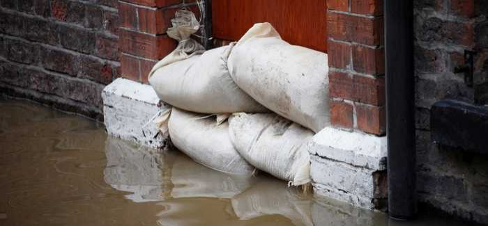 The scheme will reduce the risk of flooding to hundreds of homes