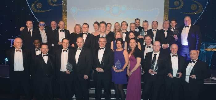 Winners at this year's awards