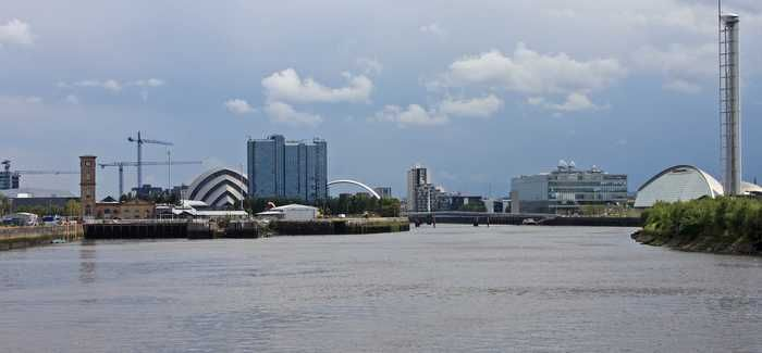 Alternative approaches in the feasibility phase include laying the rising main in the bed of the River Clyde