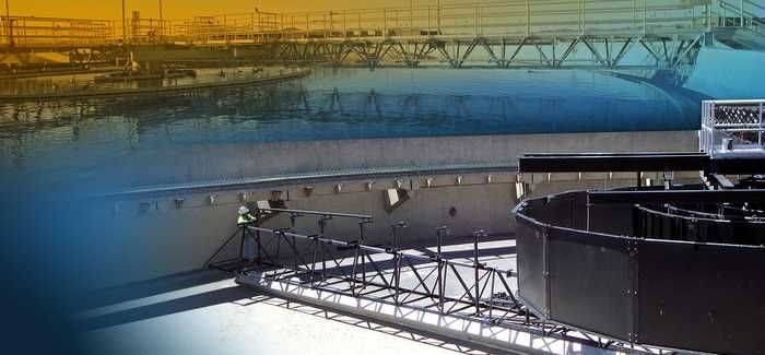 Siemens Tow-Bro clarifiers, which are being installed at the Metro Wastewater Reclamation Facility in Denver, Colorado, are part of the technology portfolio being sold to AEA