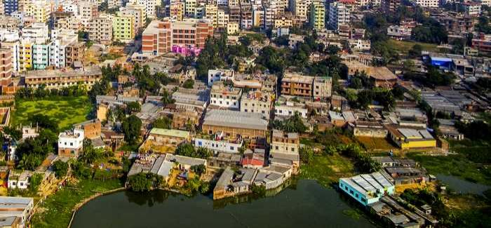 Diminishing groundwater and population growth in Dhaka is spurring development of water resources