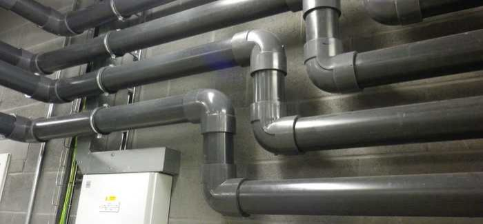 Dual-containment chemical piping system installed at Rivington water treatment works