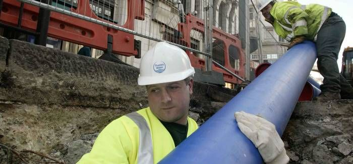 Improving pipes to meet population growth is among Thames ' plans for 2015-2020
