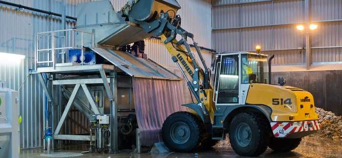 Processing begins for food waste at Wessex Water's AD facility at Avonmouth sewage works