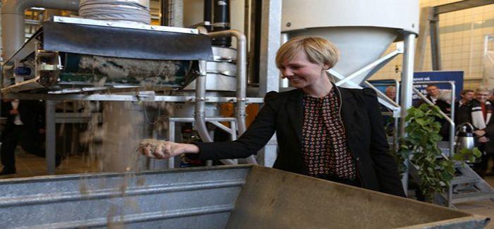 Danish Environment minister Ida Auken opens the new project in Aarhus, Denmark