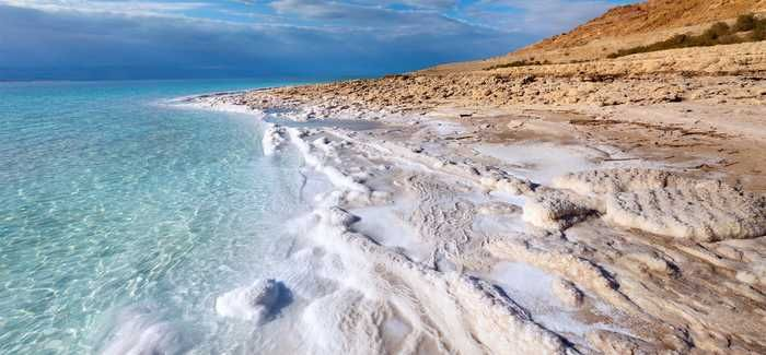 Brine from the new desalination plant at Aquaba would be brought to the Dead Sea which is declining by about a metre a year