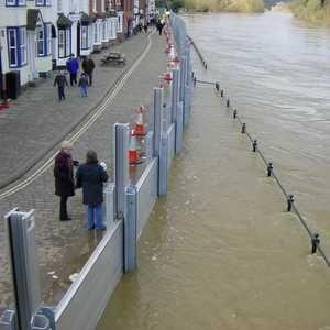 Media spotlight for Bewdley flood system