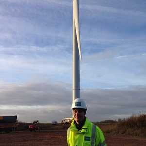 Wind power starts at Wanlip