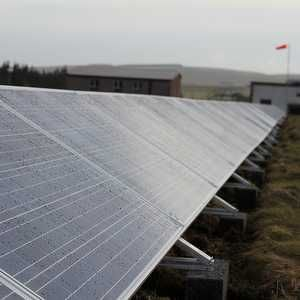 Scottish Water uses solar power to reduce treatment costs