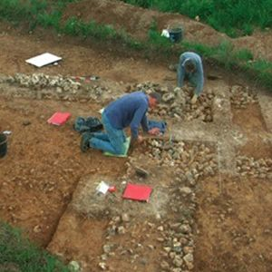 Water mains work uncovers rare archaeological findings