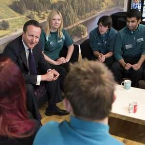 Cameron launches £115M utility jobs scheme
