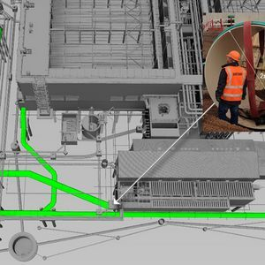 BIM proves vital for pipework at Liverpool WwTW
